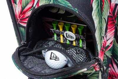 ニューエラ ゴルフ ニューエラ NEW ERA 日本正規品 メンズ レディース キャディバッグ 9型 48インチ対応 取り外せるポーチ付き ボタニカル柄 ロゴ刺繍  2019 春夏 新作 ゴルフ