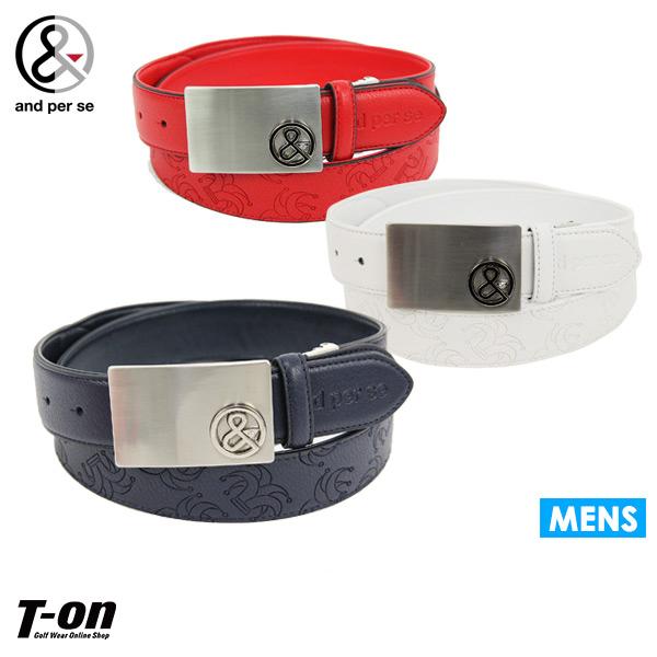 c7d7f0e3e8a030 Golf in the spring and summer latest アンパスィ and per se men belt leather-like belt  belt cut possibility model push design circus motif logo design 2019