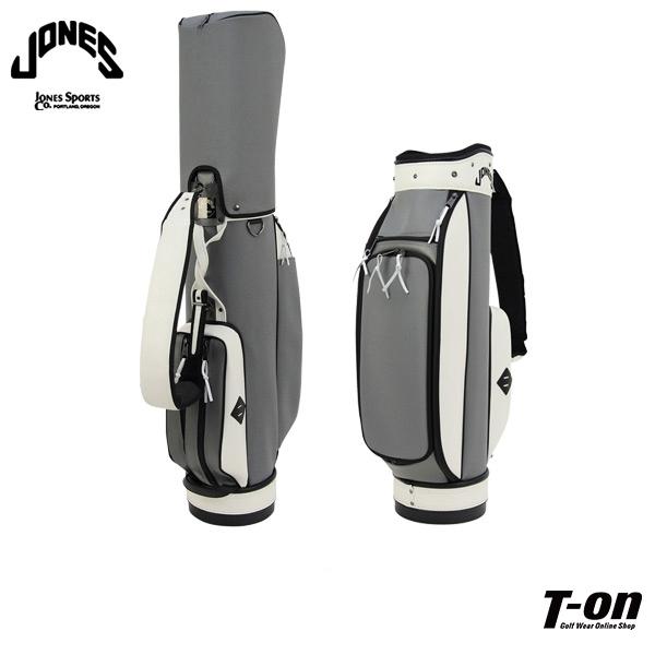 ジョーンズ JONES 日本正規品 メンズ レディース キャディバッグ ツアーバッグ ライダーテイストデザイン ロゴ刺繍 CHARCOAL 【送料無料】 ゴルフ
