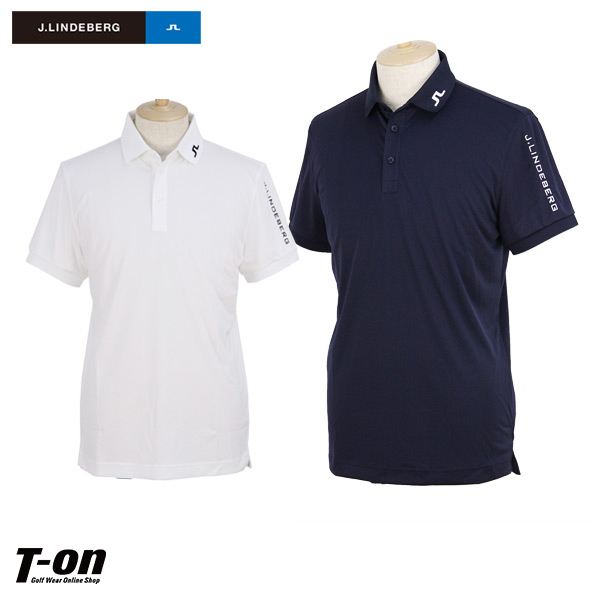 19ffaedd J Lindbergh J.LINDEBERG Japanese regular article men polo shirt short  sleeves polo shirt stretch