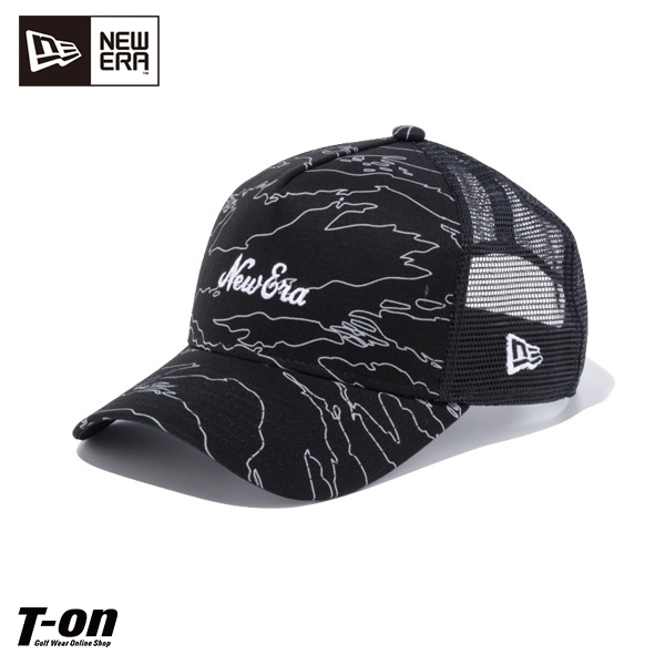 a52f6fc9 New gills golf new gills NEW ERA regular article men gap Dis cap mesh cap  9FORTY A-Frame trucker Tigers tripe line duck 2019 spring and summer new  work golf ...