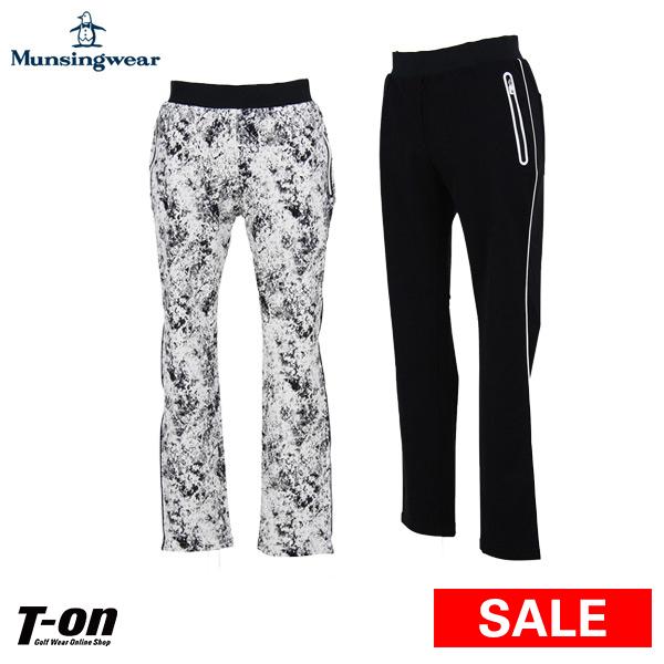 【30%OFF SALE】マンシングウェア Munsingwear レディース パンツ ロングパンツ スリムフィット レギンスパンツ ウエストゴム スリーシックスティパンツ サイドライン M~3Lまで  【送料無料】 2019 春夏 新作 ゴルフウェア