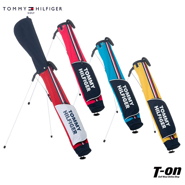 トミー ヒルフィガー ゴルフ TOMMY HILFIGER GOLF 日本正規品 メンズ レディース クラブケース セルフスタンドバッグ セルフクラブケース 4.5型 5~6本用 配色デザイン ロゴデザイン 【送料無料】 ゴルフ