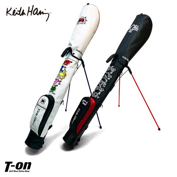 キース・ヘリング Keith Haring 日本正規品 メンズ レディース クラブケース 47インチ対応  スタンド式クラブケース フード付き アメリカンポップアート ロゴ刺繍 【送料無料】 ゴルフ
