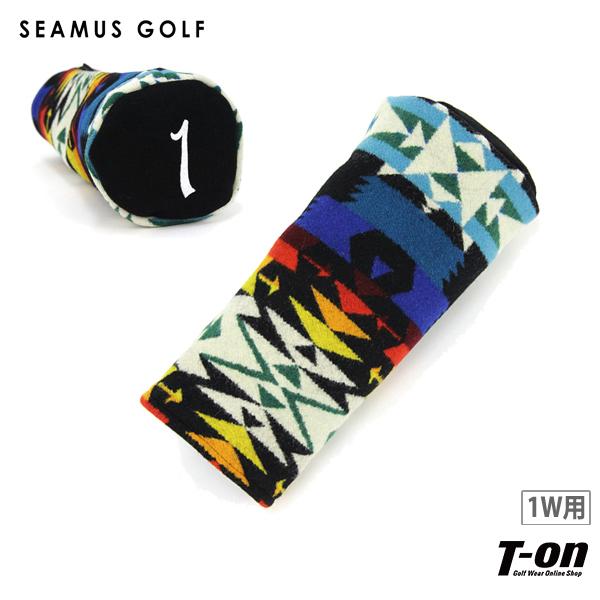 シェイマスゴルフ SEAMUS GOLF 日本正規品 メンズ レディース ヘッドカバー ドライバー用ヘッドカバー PENDLETON Tucson 1W 460CC対応 ネイティブ柄 アメリカ製 番手刺繍 【送料無料】 ゴルフ