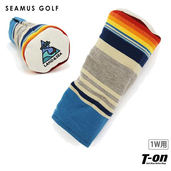 シェイマスゴルフ SEAMUS GOLF 日本正規品 メンズ レディース ヘッドカバー ドライバー用ヘッドカバー 1W 460cc対応 PENDLETON Turquoise Serape LAND & SEA ネイティブ柄 アメリカ製 【送料無料】 ゴルフ