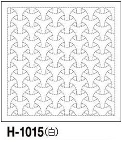 教材、デイレク、リハビリ、作業療法にも。印刷された図案は洗うと消えます。 【9/30-10/1限定クーポン300円OFF~】.オリムパス 刺し子 花ふきん 布パック 丸毘沙門 ( まるびしゃもん ) 白 伝統柄 H-1015 刺しゅう さしこ 刺繍 技法