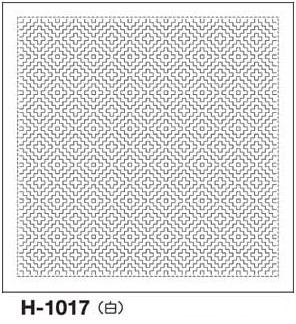 美しい針目の一目刺し ひとめざし 針目は 縦 横 2方向のみで入門向き 印刷された図案は洗うと消えます 高品質 .オリムパス 刺し子 花ふきん 技法 布パック 格安 価格でご提供いたします 一目刺し H-1017 刺しゅう 柿の花 さしこ 刺繍 白 伝統柄