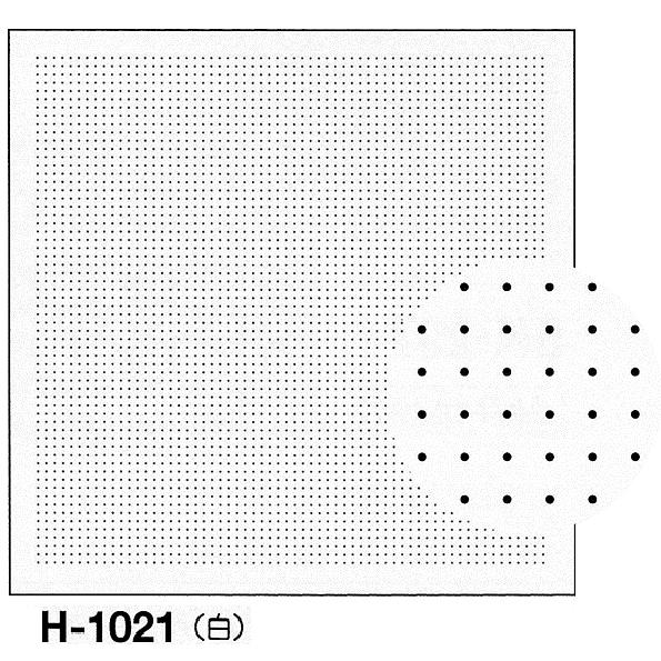 5mm間隔のドットをガイドにして自由な模様の花ふきんを作ることができます 印刷された図案は洗うと消えます .オリムパス 刺し子 花ふきん 布パック 激安☆超特価 一目刺し用ガイド付き さらしもめん 白 H-1021 5mm間隔ドット方眼 さしこ 刺しゅう いつでも送料無料 刺繍 技法