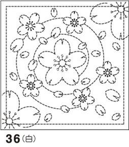 メール便可 教材 デイレク リハビリ 作業療法にも .オリムパス 刺し子 花ふきん 布パック 刺しゅう 刺繍 36 和柄 みずべのさくら ショップ 技法 セール特価 白 水辺の桜 さしこ