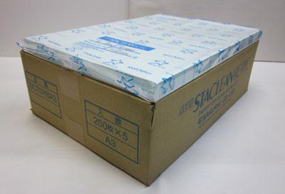 【送料無料】ニュースタクリン PPC・クリーンルーム用 無塵紙 [SC75RBA3] A3(75g/m²)ブルー(1ケース250枚×5冊)