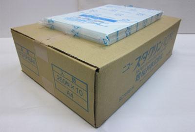 【送料無料】ニュースタクリン PPC・クリーンルーム用 無塵紙 [SC75RBA4] A4(75g/m²)ブルー (1ケース250枚×10冊)