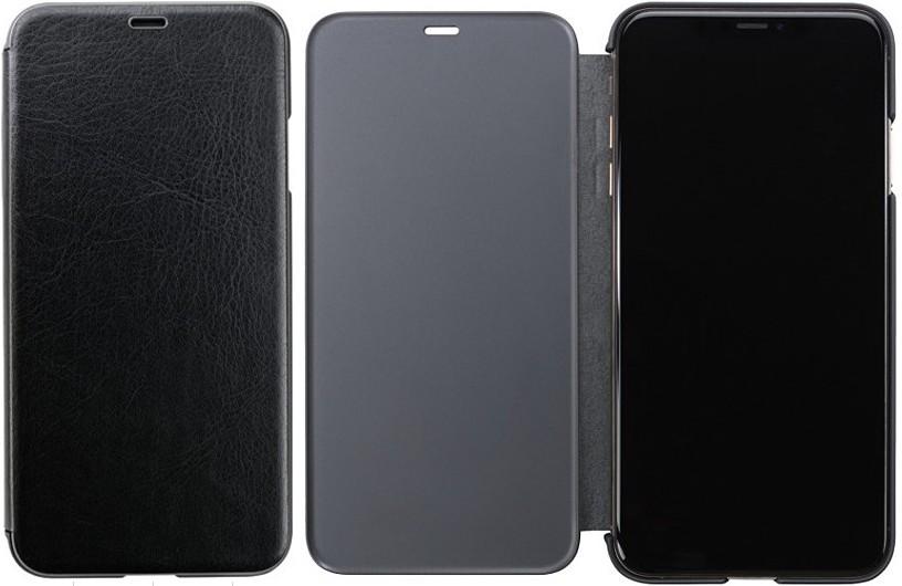 iphone いよいよ人気ブランド XS用 フリップケース ブラック SEAL限定商品