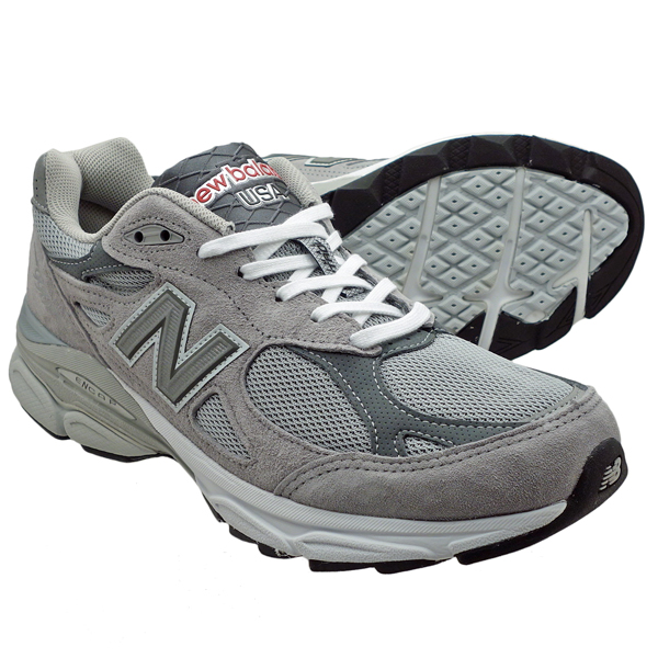 MADE IN USA New Balance 990v3, Grey with White   MADE IN THE