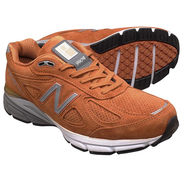 M990 NEW BALANCE 990V4 990 men's New orange sneakers Balance