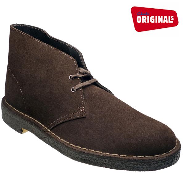クラークス デザートブーツ ブラウン スエード CLARKS DESERT BOOT 26107879(31692) BROWN SUEDE≪USA直輸入・正規品≫ メンズ ブーツ クラークス
