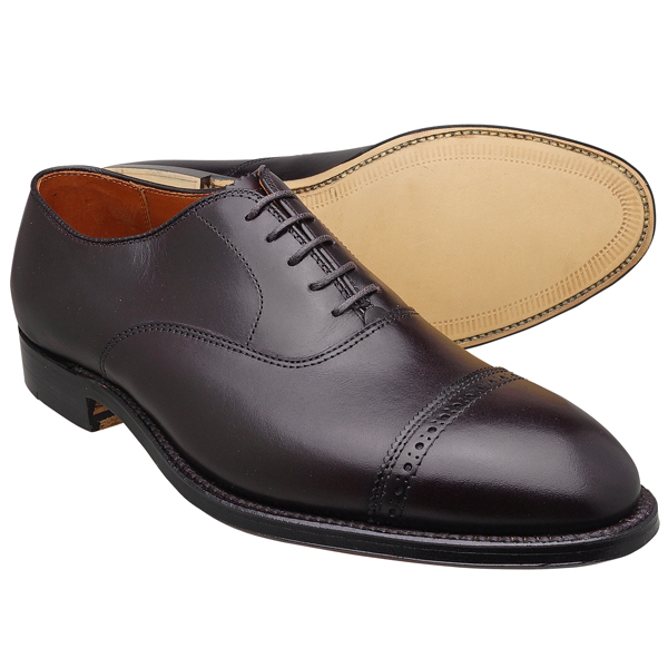 Alden オールデン 905 Straight Tip Bal Oxford パンチドキャップトゥ BURGUNDY レザーソール≪MADE IN U.S.A. 正規品≫