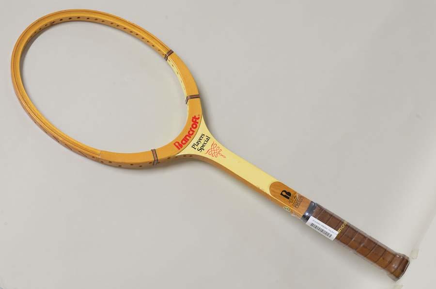(中古 ラケット テニスラケット)BANCROFT プレーヤーズスペシャル ラルフ V ソーヤー【ウッドラケット】BANCROFT PLAYERS SPECIAL RALPH V.SAWYER(L3)【中古】 人気(硬式用 テニスラケット) 20P30Sep17 20P03Mar18