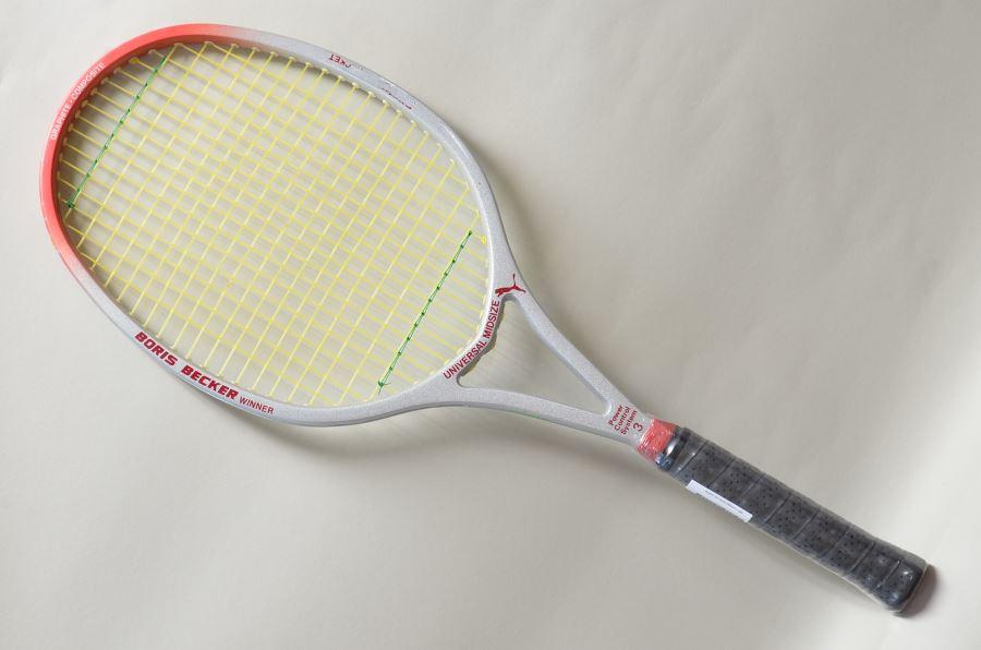 (中古 ラケット テニスラケット)プーマ ボリスベッカーウィナーPUMA BORIS BECKER WINNER MID(G2)【中古】(ラケット/硬式用/テニスラケット/プーマ) 20P30Sep17