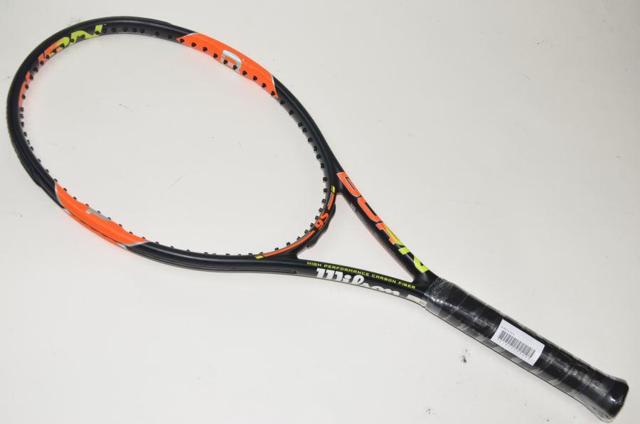 【中古】ウィルソン バーン 95 2015年モデル 【スマートテニスセンサー対応】WILSON BURN 95 2015(G3)【中古 テニスラケット】(ラケット 硬式用 中古ラケット 中古テニスラケット 硬式テニスラケット テニスサークル 部活 テニス用品)
