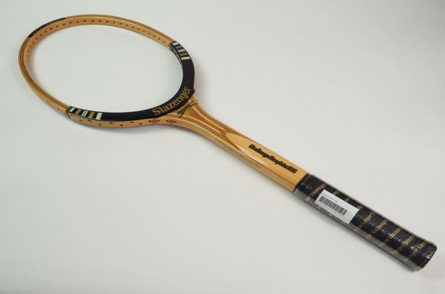 【中古】スラセンジャー チャレンジグラファイト100Slazenger Challenge Graphite 100(L4)【中古 テニスラケット】(ラケット 硬式用 中古ラケット 中古テニスラケット 硬式テニスラケット テニスサークル 部活 テニス用品)