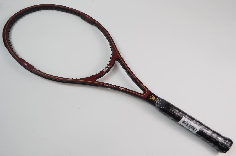 【中古】ウィルソン ジャッククレーマー スタッフWILSON JacK Kramer Staff(L3)【中古 テニスラケット】