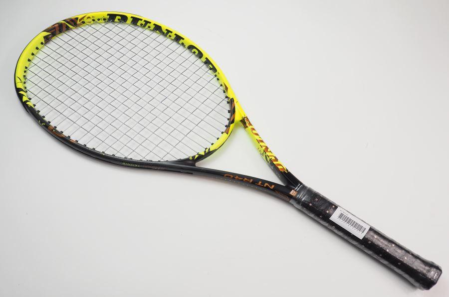 【中古】ダンロップ NT R4.0【インポート】【一部グロメット割れ有り】DUNLOP NT R4.0(G2)【中古 テニスラケット】