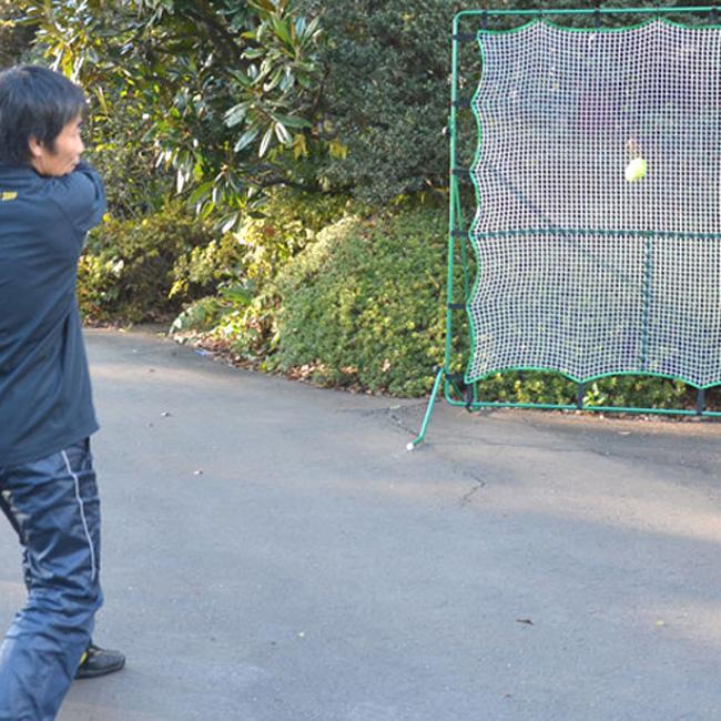 リバウンドネット2(テニス ネット 練習器具 1人 テニス練習機 テニス用品 キッズ ジュニア ボレー ストローク練習機 練習 練習ネット テニス練習 ボレー練習 練習用具 ショット トレーニング ソフトテニス トレーニンググッズ 上達グッズ テニス上達グッズ)