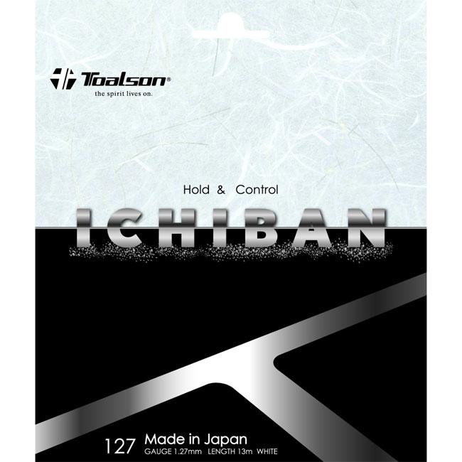 トアルソン(TOALSON)イチバン127(旧名称:シンセティック127コントロール[イチバン])ICHIBAN 127(240mロール)(硬式 トアルソン ガット ラケット ロールガット テニスガット 張替え テニス用品 テニサポ 小物 ストリングス プレゼント)