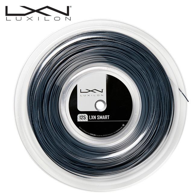 ルキシロン(LUXILON)スマート 200mロール(1.25/1.30mm)SMART(硬式テニス ガット ストリング 硬式テニスガット ポリガット ポリエステル 小物 テニス ラケット テニスグッズ テニスガット テニス用品 賢いストリング かしこい)