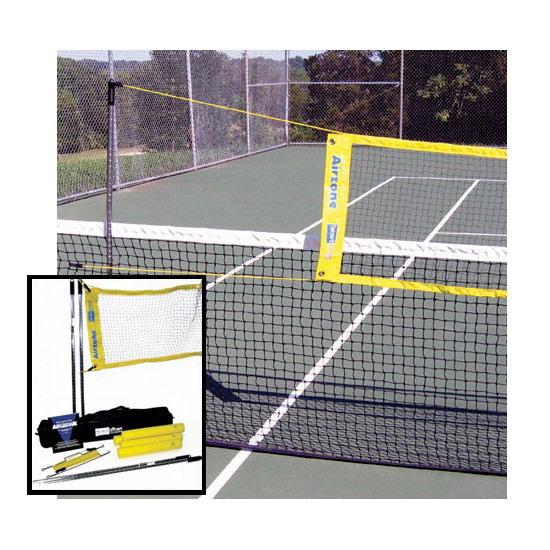 エアーゾーンプラス フルシステム(QOAP)(インポート・海外取り寄せ商品)【お取り寄せまで約1ヶ月かかります】【送料無料】(ネット テニスコート テニス 自主トレーニング 練習器具 部活 テニスサークル テニス練習グッズ テニスグッズ テニス用品)