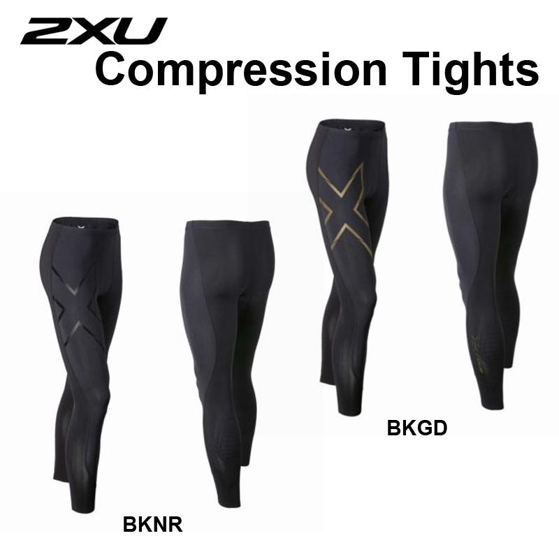 2XU(ツータイムズユー)Compression Tights コンプレッションウェア 男性用 メンズ スポーツウェア アンダーウェア..