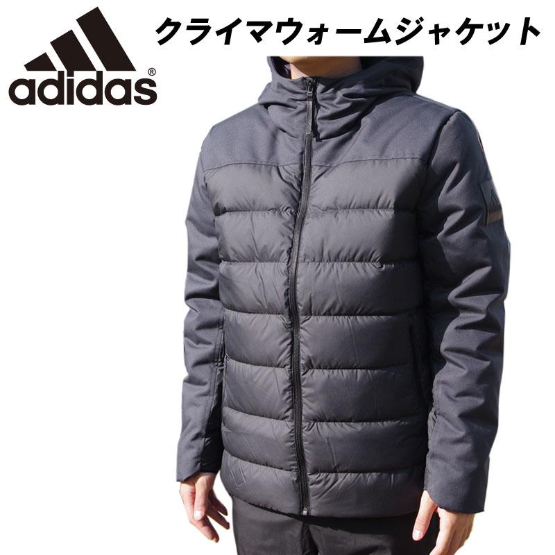 即納可! adidas(アディダス)クライマワームジャケット アウター 上着 防寒 スポーツウェア トレーニングウェア eub82