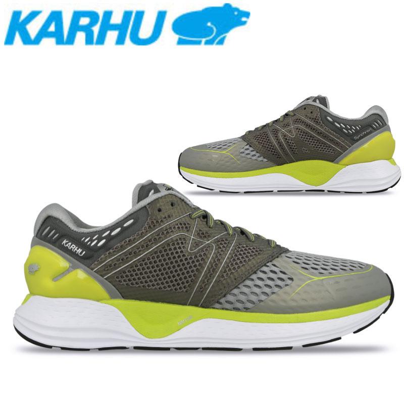 KARHU(カルフ)シンクロンオルティックス ランニングシューズ マラソン ジョギング メンズ 男性用 靴 フォーム改善 ビギナー 初心者向け kh100206