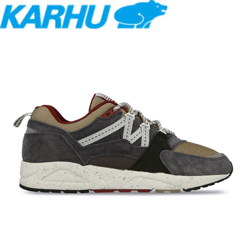KARHU(カルフ)スニーカー レディース メンズ フュージョン2.0 シューズ 靴 ユニセックス 男女兼用 アスファルト/トープ kh804016:Tシャツ&スポーツ Ttimeせとうち