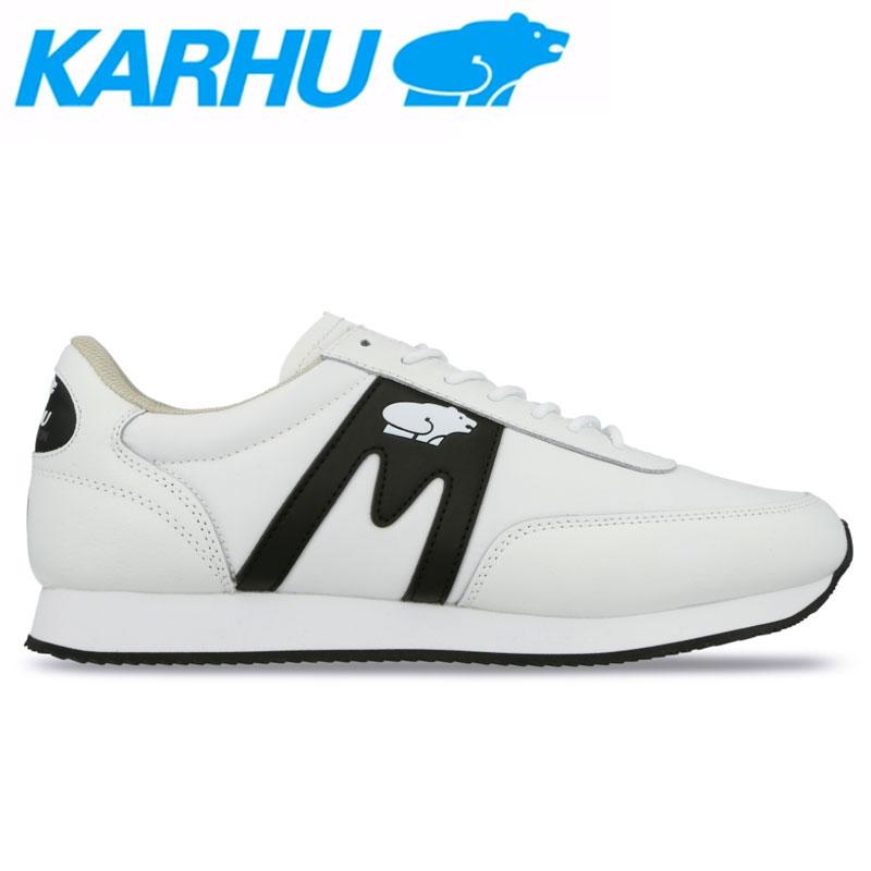 KARHU(カルフ)スニーカー レディース メンズ アルバトロス シューズ 靴 ユニセックス 男女兼用 レザー/ナイロン/ホワイト/ブラック kh802575