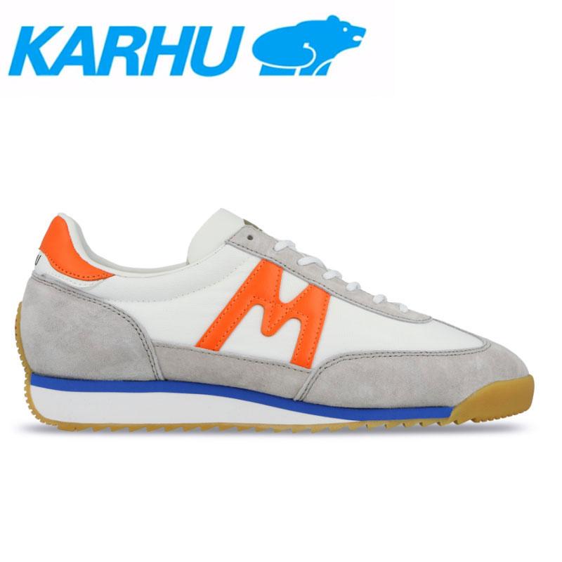 KARHU(カルフ)スニーカー レディース メンズ チャンピオンエア シューズ 靴 ユニセックス 男女兼用 スウェード/ナイロンホワイト/フレーム kh805007