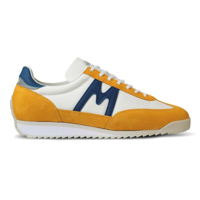 KARHU(カルフ)スニーカー レディース メンズ 靴 チャンピオンエア GOLDEN ROD/TWILIGHT BLUE ゴールデンロッド/トワイライトブルー kh805029
