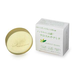 ラウリン酸を使わない洗顔石鹸です お買得 直輸入品激安 お肌への負担を排除するため 市販の洗顔石鹸の原料に多く使われる ラウリン酸 を使わずに作りました アロマのやさしさ 100g ノンラウリン洗顔石鹸