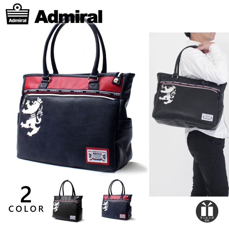 [新作/公式] アドミラル トートバッグ レディース メンズ Admiral ブラック 他全2色 PU レザー ADGA-08