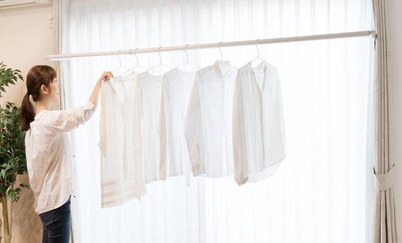 代引不可 「部屋干し」の新発想、快適な暮らしをスッキリお手伝い。室内物干しユニット フレクリーン プロ30インセット