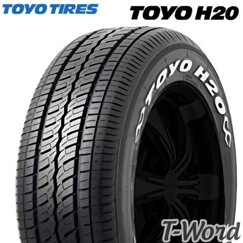 TOYO TIRE (トーヨータイヤ) TOYO H20 215/60R17C 109/107R サマータイヤ トーヨー エイチニジュウ ホワイトレター ハイエース等ビジネスバン