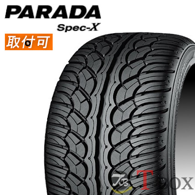 【特価】 【4本セット】YOKOHAMA (ヨコハマ)PARADA Spec-X PA02 285/35R22 106V サマータイヤ パラダ・スペックエックス, きららあられショップ 0191bde6
