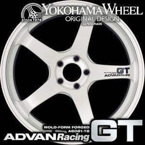 YOKOHAMA WHEEL ADVAN Racing GT for European Cars 19inch 8.5J PCD:120 穴数:5H カラー : MHB アドバンレーシング