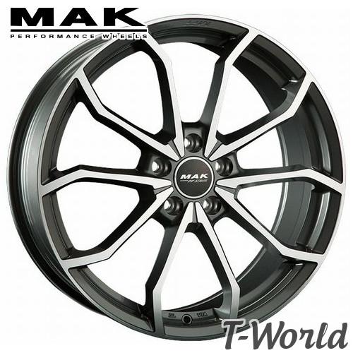 MAK LOWE FF 19inch 8.0J PCD:112 穴数:5H インセット:+50 レーベ エフエフ アウディ :A6(4F)、VW :ビートルなどに