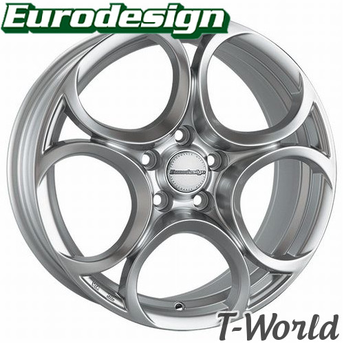 Eurodesign FOGLIO 16inch 7.0J PCD:110 穴数:5H INSET:+41 ユーロデザイン フォリオ アルファロメオ:ジュリエッタ(ビッグキャリパー装着車除く) などに