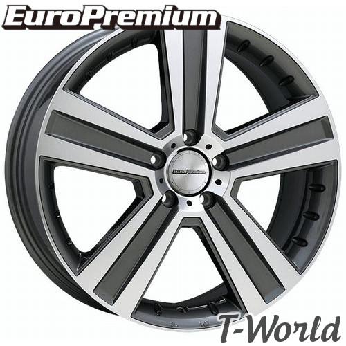 EuroPremium WERNER 20inch 9.5J PCD:112 穴数:5H INSET:+40 ユーロプレミアム ヴェルナー ベンツ : GL63(X166),GLS63,GLS350ワイドボディ