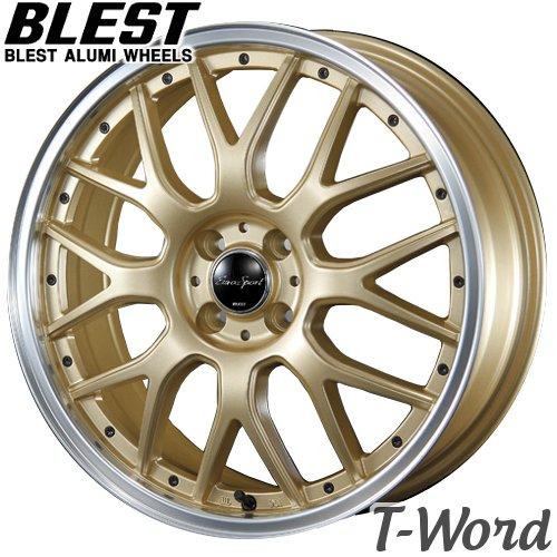 BLEST EuroSport Type 815 15inch 5.0J PCD:100 穴数:4H カラー:GBK / SGG ブレスト ユーロスポーツ タイプ815