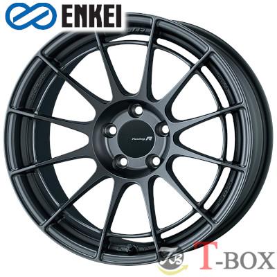 ENKEI NT03RR 17inch 7.0J PCD:114.3 穴数:5H カラー:Matte Dark Gunmetallic / Matte Sparkle Silver エンケイ ホイール