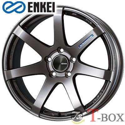 【4本特価】ENKEI PF07 18inch 8.0J PCD:100 穴数:5H カラー:Dark Silver エンケイ ホイール
